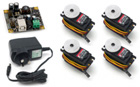 Phidget Advanced Servo Kit 4-Motor (2010)